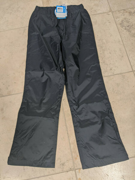 Columbia Omni Tech Storm Surge Waterproof Breathable Pants Black Size S NEW