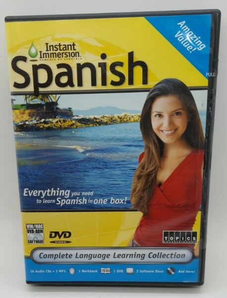 Instant Immersion SPANISH 16 Audio CD Edition Deluxe $26.99