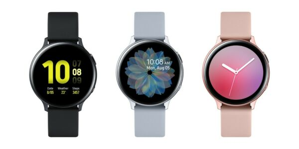 Samsung Galaxy Watch Active 2 40mm Bluetooth Stainless Black Gold Silver SM R830