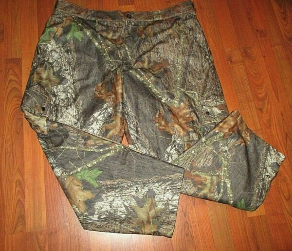 Mint Men#x27;s Stearns Dry Wear Lined Camo Hunting Cargo Pants Size XXL Mossy Oak