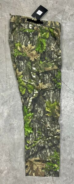 Nomad Men#x27;s X Large NWTF Turkey Hunting Mossy Oak Obsession Camo Pants N2000041