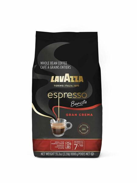 Lavazza Espresso Barista Gran Crema Whole Bean Coffee Medium Espresso. 35.2 Oz