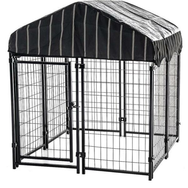 Dog Crates and Kennels Chain Link Kennel Outdoor XXL For Extra Large Dogs Cage $226.52