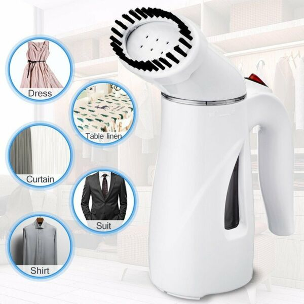 Portable Steamer Fabric Clothes Garment Handheld Compact Fast Heat up Steam Iron