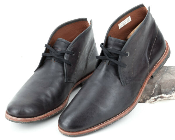 Timberland Boot Company Wodehouse Men#x27;s Black Chukka Leather Ankle Boots Size 12 $79.95