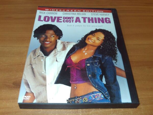 Love Don#x27;t Cost a Thing DVD 2004 Widescreen $6.64