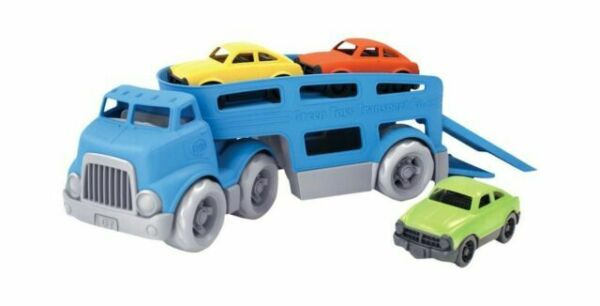 Green Toys Car Carrier Vehicle Set Toy Blue Standard $21.99