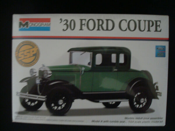 Monogram 1930 Ford Coupe 1 24 Factory Sealed