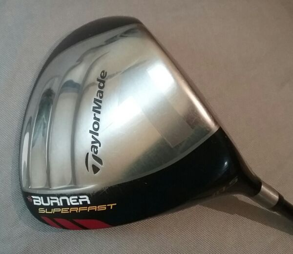TaylorMade Burner Superfast Driver 10.5° Matrix Ozik Stiff Flex Right Handed RH