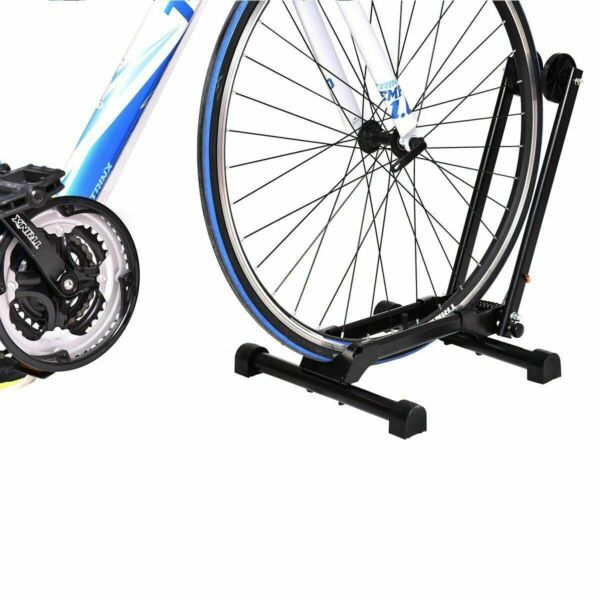 Ironmax Bicycle Bike Floor Parking Storage Stand Display Rack Folding Holder $35.89