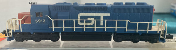 N Scale Kato Diesel engine Locomotive GT SD40 Grand Trunk Custom Painted 5913 $99.95