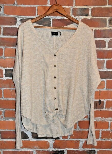 Out from Under for Urban Outfitters Wallf Knit Blouse Size S $13.60