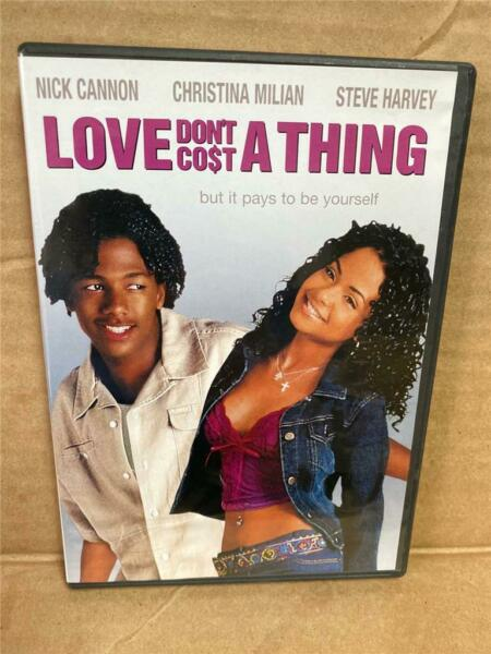 Love Dont Cost a Thing DVD 2004 Widescreen Christina Milian Nick Cannon $4.99