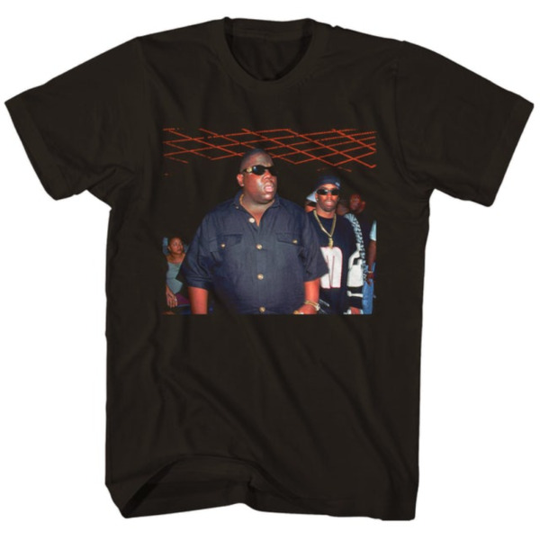 The Notorious B.I.G. Puffy and Biggie Versace Shades T Shirt $16.00