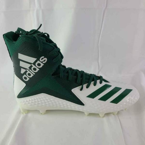 Adidas Mens Freak X Carbon High Football Cleats Green DB0561 Lace Up 14 M New $29.99