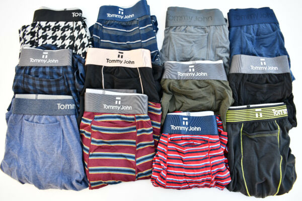 TOMMY JOHN Second Skin or Cool Cotton RELAX FIT Boxer CHOOSE SIZE amp; COLOR $18.99