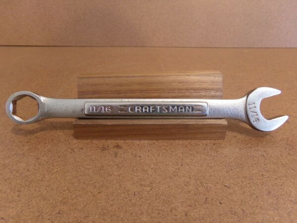 Craftsman USA SAE 6pt 11 16quot; Combination Wrench