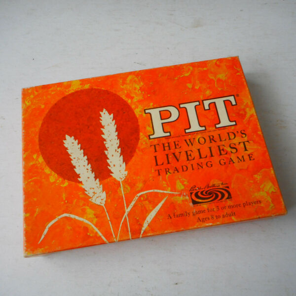 PIT Game By Parker Brothers Inc. 1964. Used #660