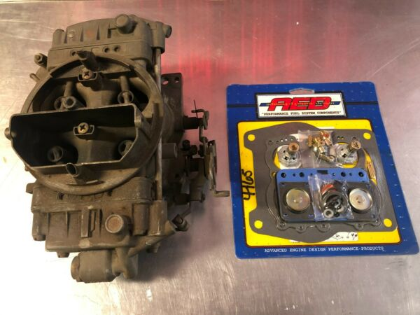 Holley 4165 650 Spreadbore Carb List 6210 3 w AED Kit FREE SHIPPING $249.99