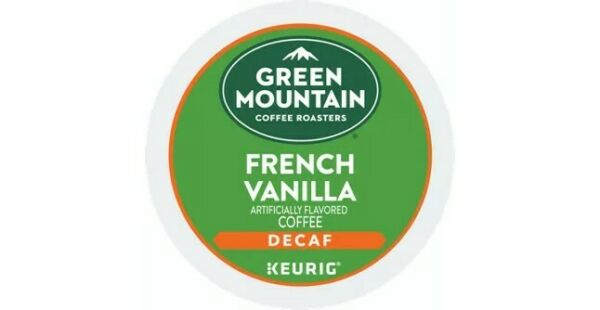 Keurig Green Mountain French Vanilla Decaf Coffee K Cup 48 count FREE SHIPPING