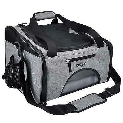Bergan Pet Booster and Pet Carrier for Pets Up to 15 Pounds Gray and Black $71.99