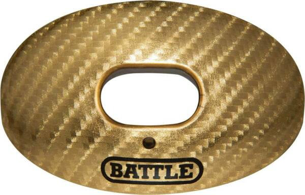 Battle Sports Oxygen Carbon Chrome Lip Protector Mouthguard New $19.99