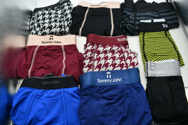 NEW WITHOUT TAGS Tommy John Men#x27;s Boxer Trunks CHOOSE SIZE amp; STYLE $19.99