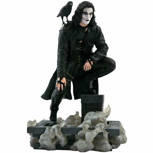 The Crow Movie Gallery Rooftop Statue 4 19 2021 PRESALE $59.99