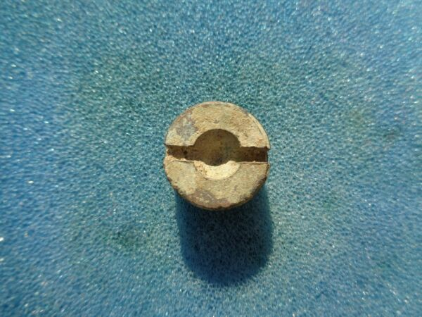Small Brass Artillery Fuse Plug Recovered in Kennesaw Georgia