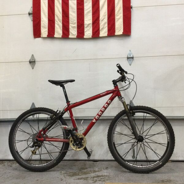 VooDoo Cycles SOBO Carbon Hard Tail Mountain Bike 17quot; Frame Shimano Diore 27 Spd $795.00