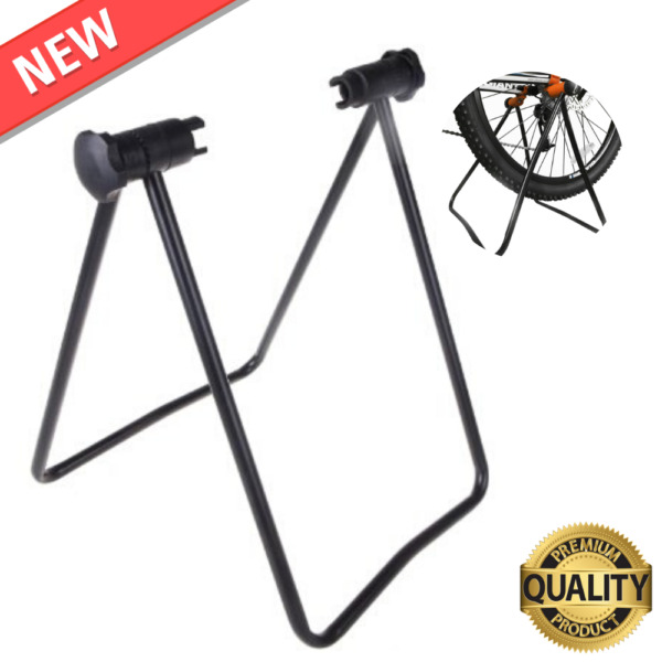 Bicycle Trainer Stationary Bike Cycle Stand Indoor Exercise Training Foldabl $29.18