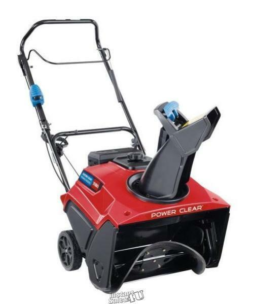 Power Clear 721 QZE 21 in.212 cc Self Propelled Gas Snow Blower Electric Start