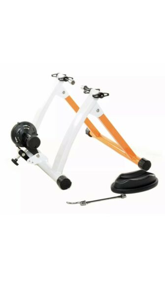 Indoor Bike Trainer Portable Exercise Bicycle Magnetic Stand Durable Steel Frame $95.00