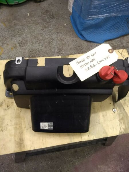 Honda HS520 snowblower lower plastic cowling and ignition switch.