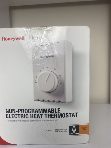 Honeywell Non Programmable Electric Heat Thermostat New Electric Heat Only $25.00