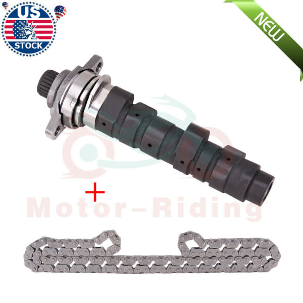 For Honda Stage 2 Two Camshaft Hot Cam Hotcams w Timing Chain TRX400EX 1043 2