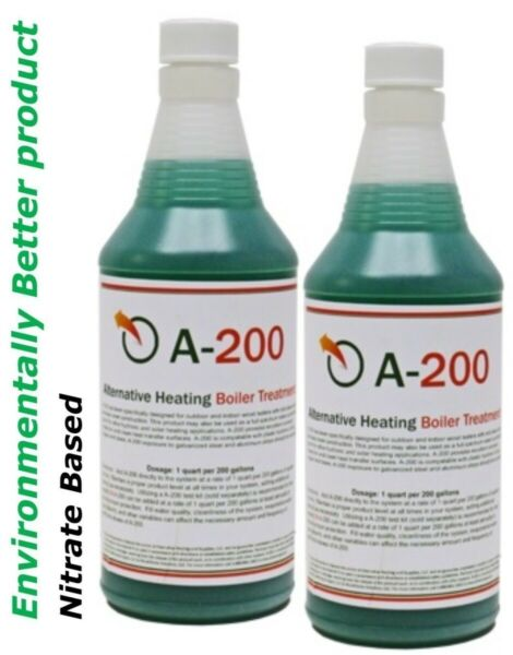 Outdoor Boiler Water Treatment with Rust Inhibitor A200 Treats 400 Gallons $46.78