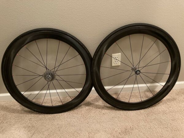 Shimano C50 Dura Ace Carbon Wheelset Tubular. Includes Schwalbe ONE tyres. $545.00