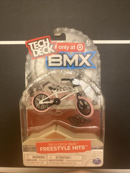 New Tech Deck BMX Freestyle Hits CULT White Pink Finger Bike Target Exclusive $18.00