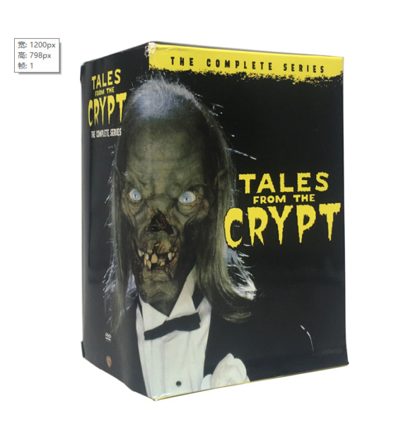 Tales from the Crypt Complete Series Seasons 1 7 20 DISC DVD Brand New