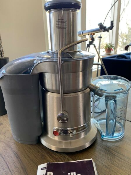 Breville Fountain Elite 1000W Electric Juicer 800JEXL