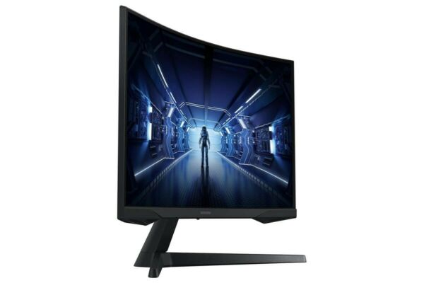 SAMSUNG 27 Inch Odyssey G5 Gaming Monitor with 1000R Curved Screen 144Hz 1ms