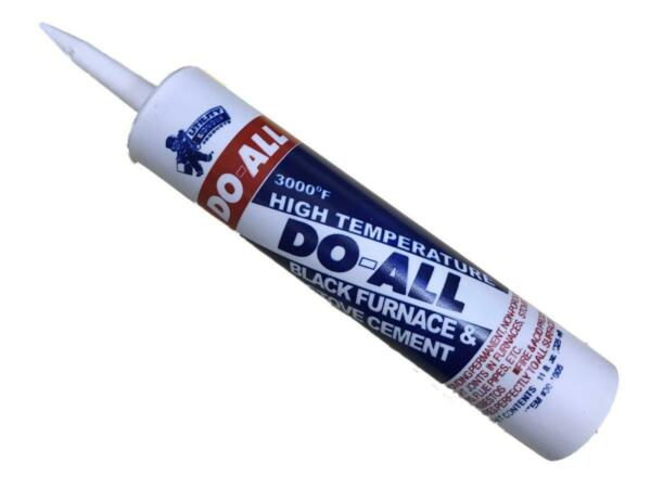 UTILITY WONDER 30 1005 11oz Tube Of Black Do All Furnace And Stove Cement $4.05