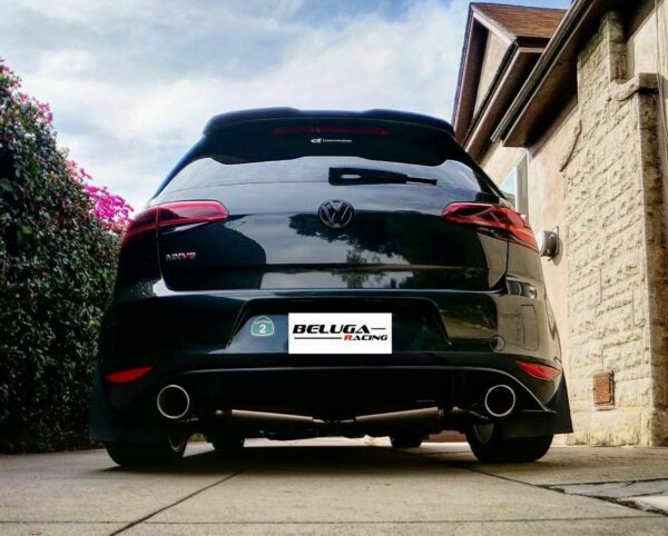 Beluga Racing VW GOLF GTI MK7 2015 2017 MKVII 2.0T Light Weight Catback Exhaust