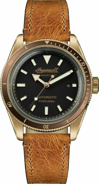 Ingersoll Men#x27;s The Scovill Automatic Watch I05001 NEW $167.99