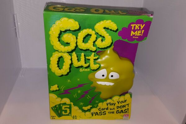 Mattel Games Gas Out Game .NEW $8.99