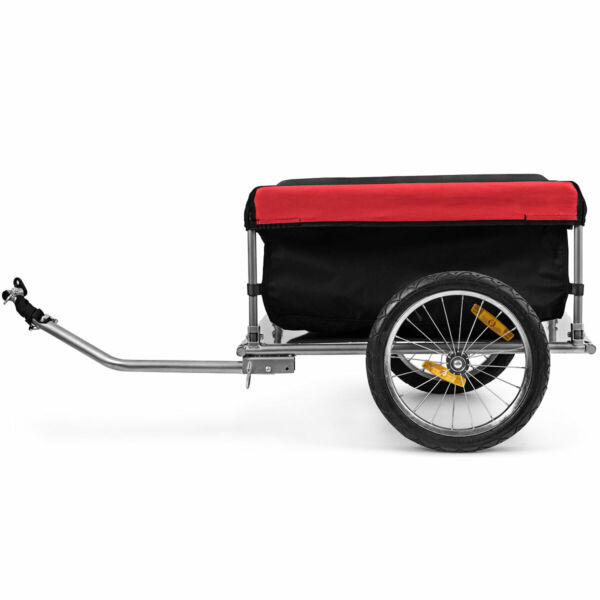 Bike Cargo Luggage Trailer w Folding Frame amp; Quick Release Wheels Tool $139.49