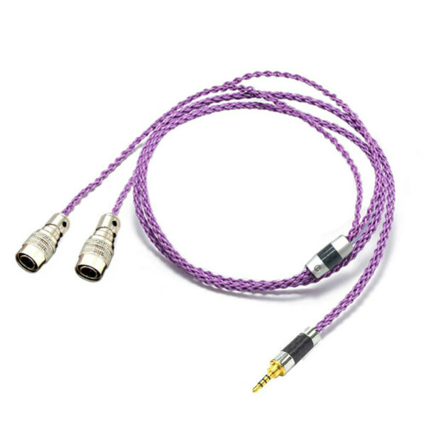 Silver Earphone Headphone Upgrade Cable For Mr Speakers Ether Alpha Dog Prime $58.00