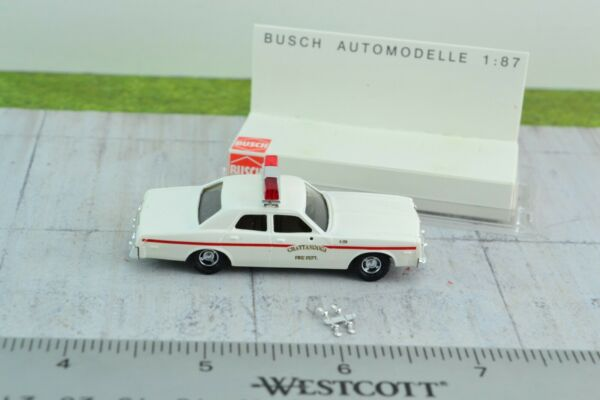 Busch 46608 Dodge Monaco Chattanooga Fire Department HO Scale 1:87