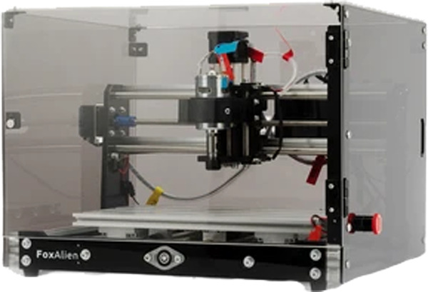 FoxAlien CNC Router Machine 3018 SE V2 with Transparent Enclosure 3 Axis $400.00